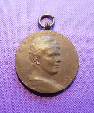 My own example of the Mary Wakefield medal